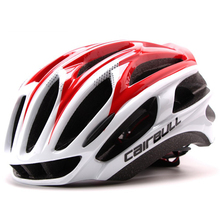 4D Bicycle Helmet Integrally-molded Cycling Helmet Outdoor Sports Road Mountain MTB Bike Helmet Top PC+EPS 56-62 CM
