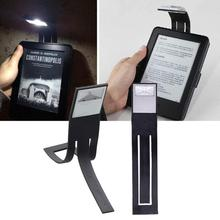 Mini Portable Clip-on led book light led reading book nightlight Flexible novelty ebook lamp W5