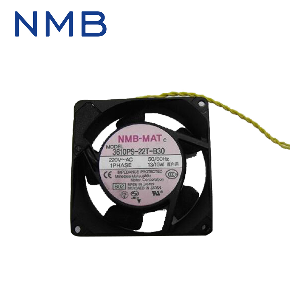 Free shipping NMB cooling fan 3610PS-22T-B30 220V instrumentation axial 92*92*25mm<br>