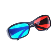 5x Free Shipping Red&blue Cyan Anaglyph Simple Style 3D Glasses 3D movie game-Extra Upgrade