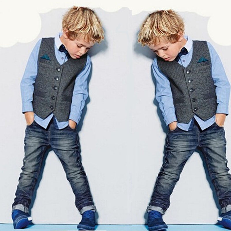 2017 Boys Blazer 2-7Y Baby Boys Gentlemen Clothing Set 3pcs Boys Suits for Weddings High-quality Children Coat Kids Clothes Sets<br><br>Aliexpress