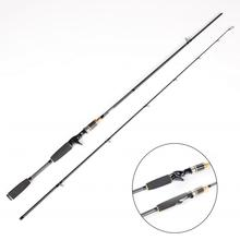 2.1M Carbon Fishing Rod Spinning Baitcasting Rod Building Fishing Rods M Power Lure wt 5-25g