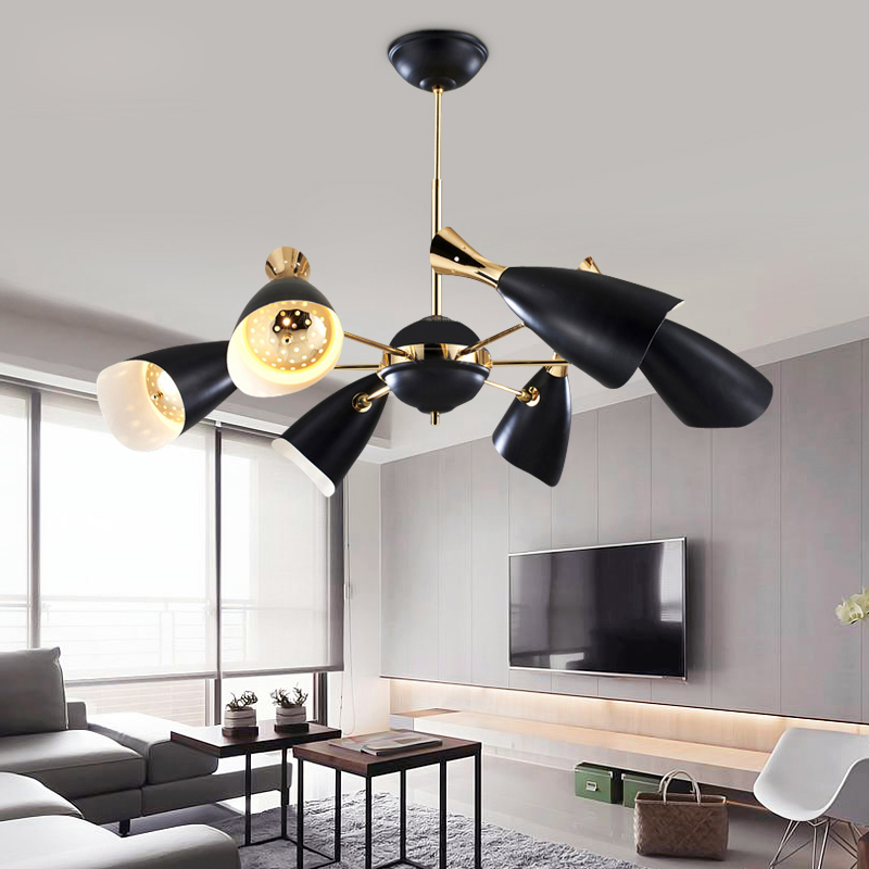 Delightfull Duke Pendant Lamp G9 E27 Nordic Designers Modern Creative Villa  Compound Living Dining Room Pendant Lights Fxiture In Pendant Lights From  Lights ...