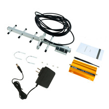 GSM 900MHz Mobile Phone Signal Booster Repeater Amplifier + Yagi Antenna  Promotion + Charger US Plug