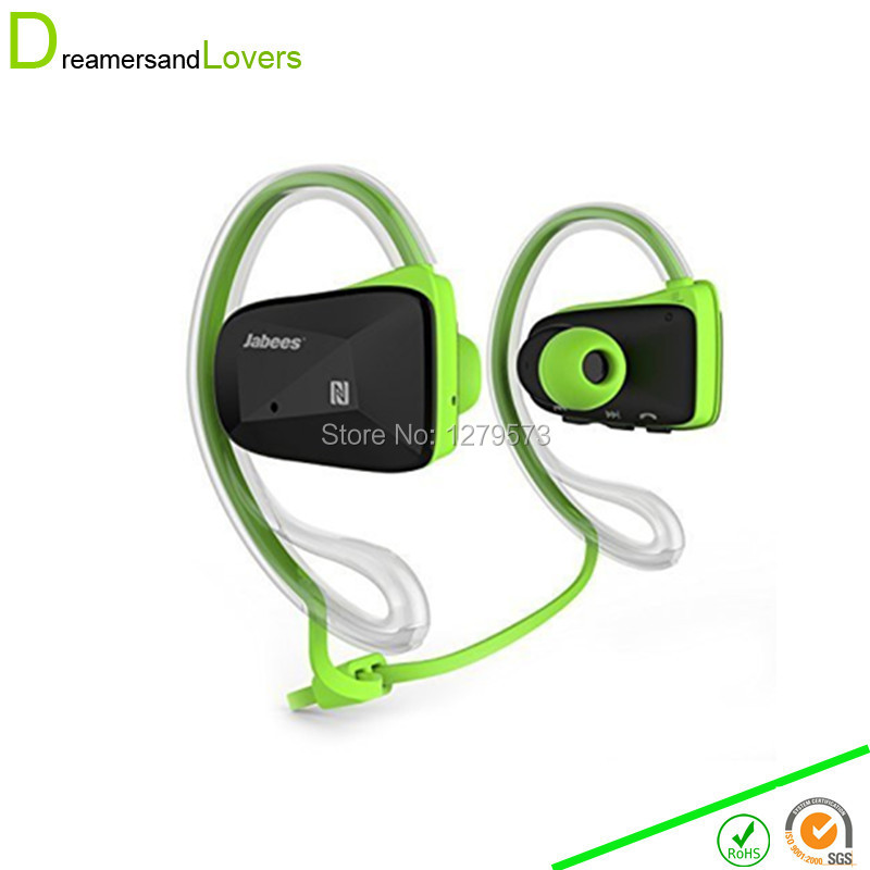 Dreamersandlovers Bluetooth Earphones 4.1 Sport Wireless Earphones With Mic Waterproof for Hiking Running Jogging Exercise Green<br>