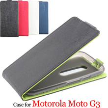 Mixed color High Quality Luxury Leather Case For Motorola Moto G3 Cover Case housing For Motorola Moto G 3 Phone Cellphone cases(China)