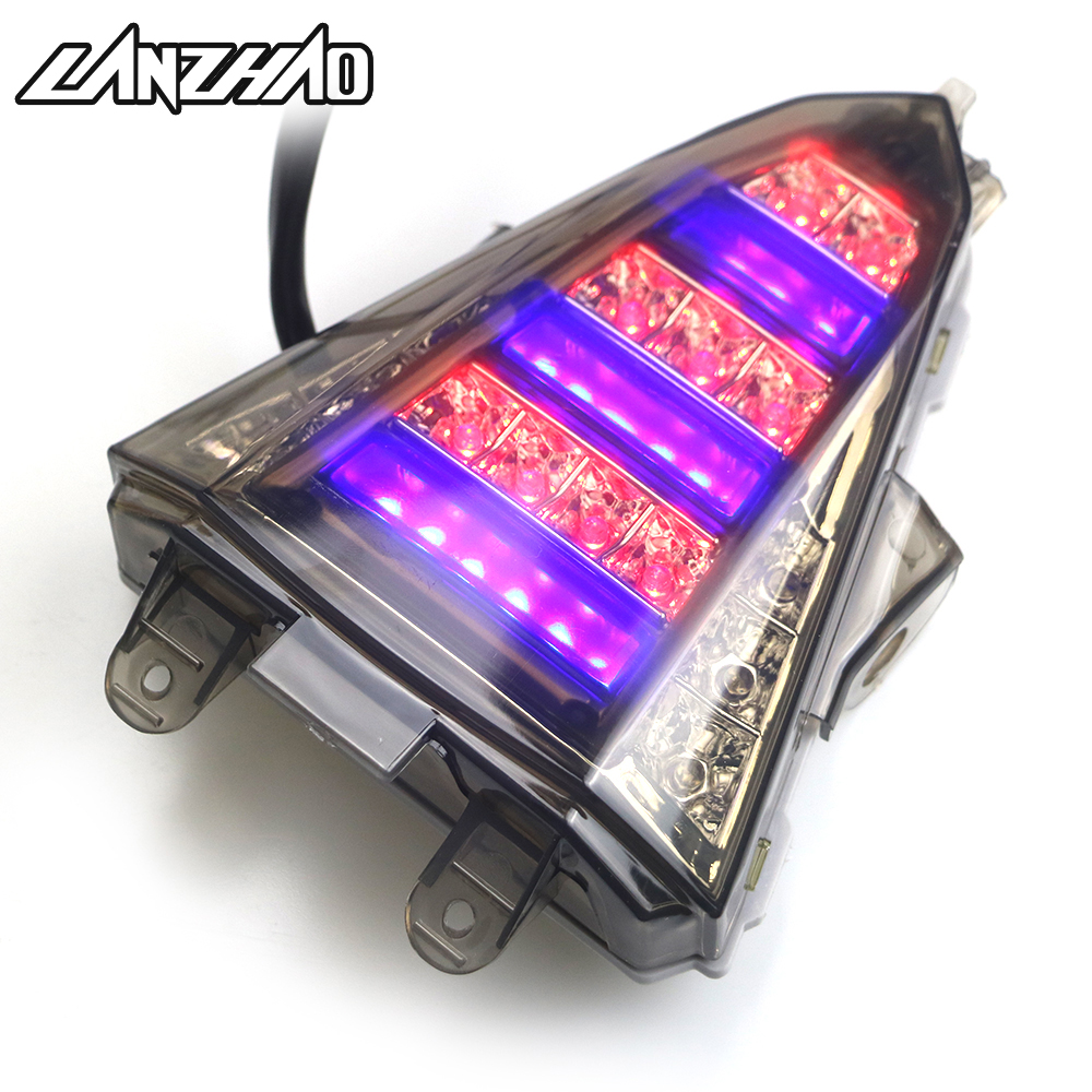 Lamp Tail-Light Signal-Indicator Yamaha R15 Motorcycle Led Running-Stop-Brake Rear  title=