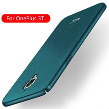 PELOSI oneplus 3t case ultra thin sandstone case back hard shell frosted cover for oneplus 3  oneplus there Phone