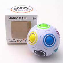 2017 Pop Stress Reliever Toys Rainbow Magic Ball Cube Puzzle Toy Children Educational Toy Adult Stress Reliever Magic Ball -20