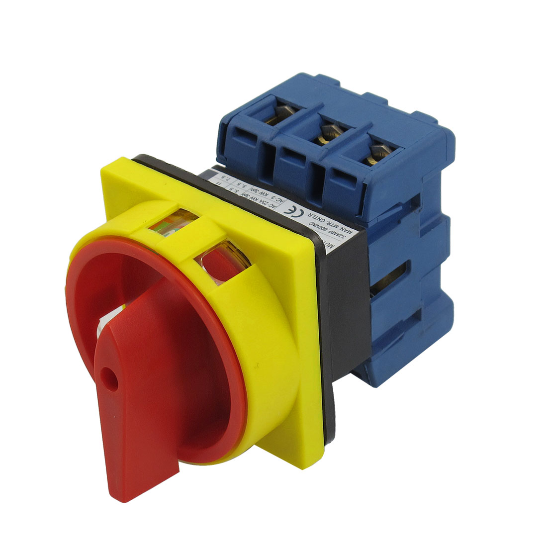 UXCELL Ui 600V Ith 63A On/Off Position 3 Phase Rotary Cam Changeover Switch<br><br>Aliexpress