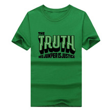 2016 paul pierce the truth shirt popular logo cotton mens tees 9 color mens t shirt hot sale free shipping(China)