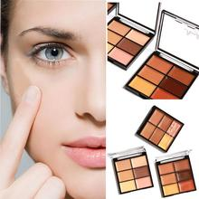 MARIA AYORA Professional 6-Color Highlight Cream Face Eye Foundation Concealer Palette Stick Makeup Tool Correct Contour