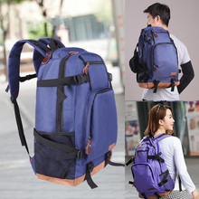 Unisex Purple Backpack Large Capacity Rucksack High Quality Oxford Backpacks For Youth Travel Bags Mochila
