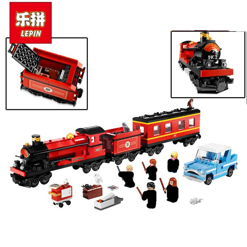 Lepin 16031 16030 16029 724Pcs The Hogwarts Express Set 4841 Movie Series Educational Building Blocks Bricks Toys Gifts for Kids<br>