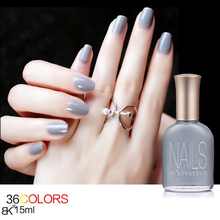 BK Brand Fragrance Water Base Peel Off Nail Polish Paint Lacquer 15ml Professional Nail Art Enamel Cosmetics 36 Color
