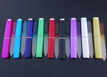 "Crystal Glass Nail File with Match HARD CASE 3 1/2"" Your Choice of Colors NF009(China)"