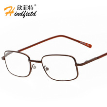 The new glasses wholesale glasses 081 elderly square metallic glasses special offer old mirror(China)