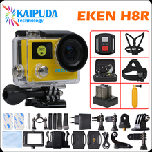 "Action camera EKEN H8 / H8R VR360 ultra 4K / 30fps WiFi Remote Controller 2.0""Dual LCD Helmet Cam waterproof Sport camera"