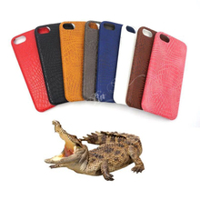 Crocodile case For iphone 7 6 6S Plus Soft PU Back cover For iphone 6 6S 7 Brown Black Blue Rose Red Pink White Gray
