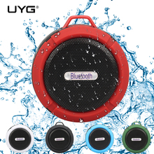 wireless bluetooth speaker waterproof shower receiver camping portable speaker support TF card blue tooth subwoofer for phone(China)
