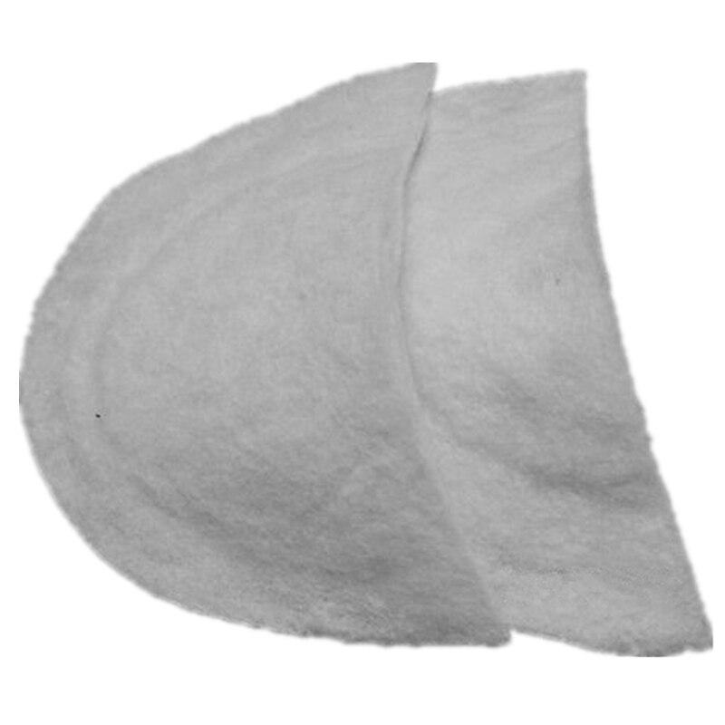 Details about  /10Pairs Unisex Soft Sewing Sponge Shoulder Pads Soft Covered Shoulder Enhancers