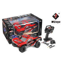 WLtoys A313 2.4GHz 2WD 1:12 Scale High Speed Radio Remote Control Short Truck Off-Road Electric RTR Car Vehicle RC Truck Toys(China)