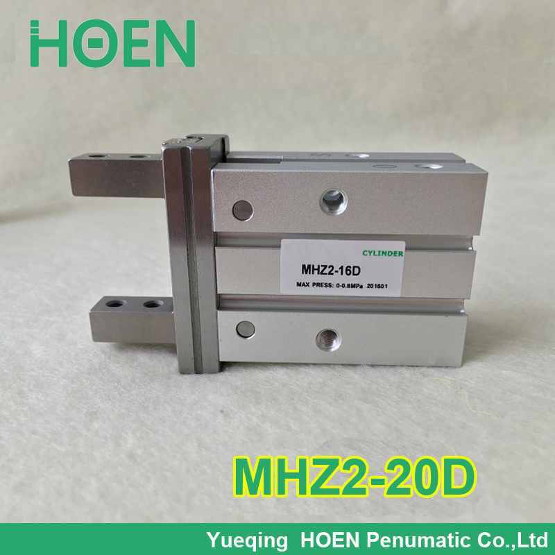 12pcs MHZ2-20D double acting pneumatic air gripper cylinder just for Paula Souza HOEN brand<br>
