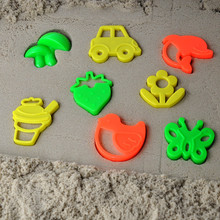 8pcs/lot magic sand fimo polymer clay light soft clay mold Mars children's educational toys
