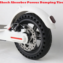 Buy Xiaomi Mijia M365 Scooter Skateboard Solid Hole Tires 21cm Avoid Non-Pneumatic Tyre Shock Absorber Porous Damping Tyres Wheels for $26.96 in AliExpress store