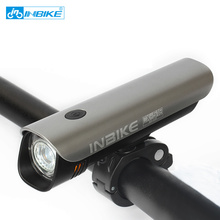 Anti glare Power Waterproof USB rechargeable Bike Light bicycle led light mtb mountain road bike front light 518(China)