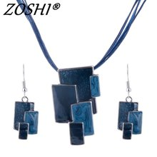 Fashion Jewelry Sets Silver Plated Purple/Coffee/Blue/Red Colors Unique Design Party Gifts High Quality Free Shipping Jewelry