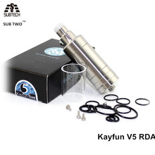 Buy SUB TWO clone kayfun v5 RDA clone E Cigarette Atomizer fit 510 Thread RDA 22 diameter for $13.20 in AliExpress store