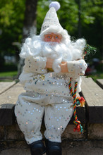 2016 New Arrivals 40 Cm Santa Claus Doll Furnishing Article Christmas  Gifts High-grade Flannelette Christmas Decoration