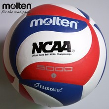 Official Size 5 Molten NCAA 5000 Volleyball PU Leather Match Volleyball Indoor&Outdoor Training Ball Volei Beach Volleyball(China)