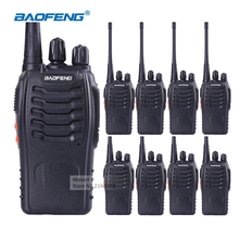 8PCS Baofeng Walkie Talkie BF- 888S Two Way Radio CB Radio 16CH 5W UHF 400-470MHz Portable Handheld Radio for Hunting Radio