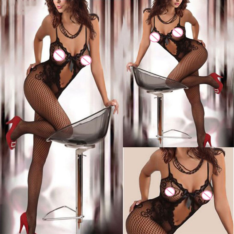 Sexy Lingerie Hot Women Erotic Lingeire Sexy Costumes Underwear Lenceria Erotica Mujer Sexi Teddy Open Crotch Babydoll Dress(China)
