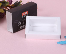 Drawer Packaging Sliding Paper Box Pull Out customized gift black drawer paper perfume packaging box ---DH30939(China)