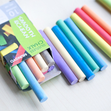 10 Colors/Set Non-dust Colored Chalk Pen Dustless Chalks For Children Graffiti/Drawing(China)