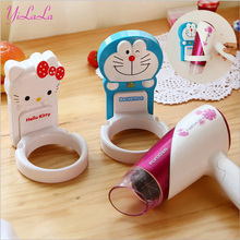 Hello Kitty electric hair dryer  shelf  toilet bathroom shelf strong adhesive ram shelf