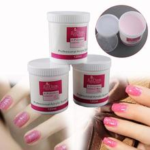 120ml Acrylic Crystal Powder Clear/White Colors Acrylic Nail Powder Professional Nail Art Powder(China (Mainland))