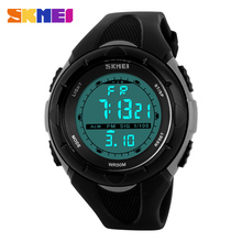 Hot Sale Children Watches SKMEI 5ATM Waterproof LCD Digital Watches Stopwatch Chronograph Date Alarm Casual Sports Wristwatch(China)