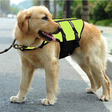 Hot Sell Dog Life Jacket Clothes Coat Training Yellow Pet Product Puppy Cat Life Vest 3 Sizes- Dog Swimming Vest