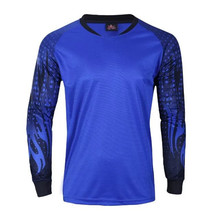 New Football Soccer Jerseys Men Goal Keeper Jersey Long Sleeve Professional Design Goalkeeper Shirts For Adults RT-7609