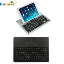 Good Sale Ultra-thin Aluminum 7 Colors Backlit Bluetooth Keyboard Stand For iPad Air2/Pro9.7/S7 Edge Jul 7