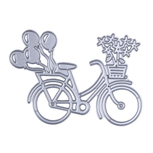 DIY Lovely Bike Bicycle Metal Cutting Dies Stencil For Scrapbooking Paper Card Album Photo Craft Art Embossing Painting Decor