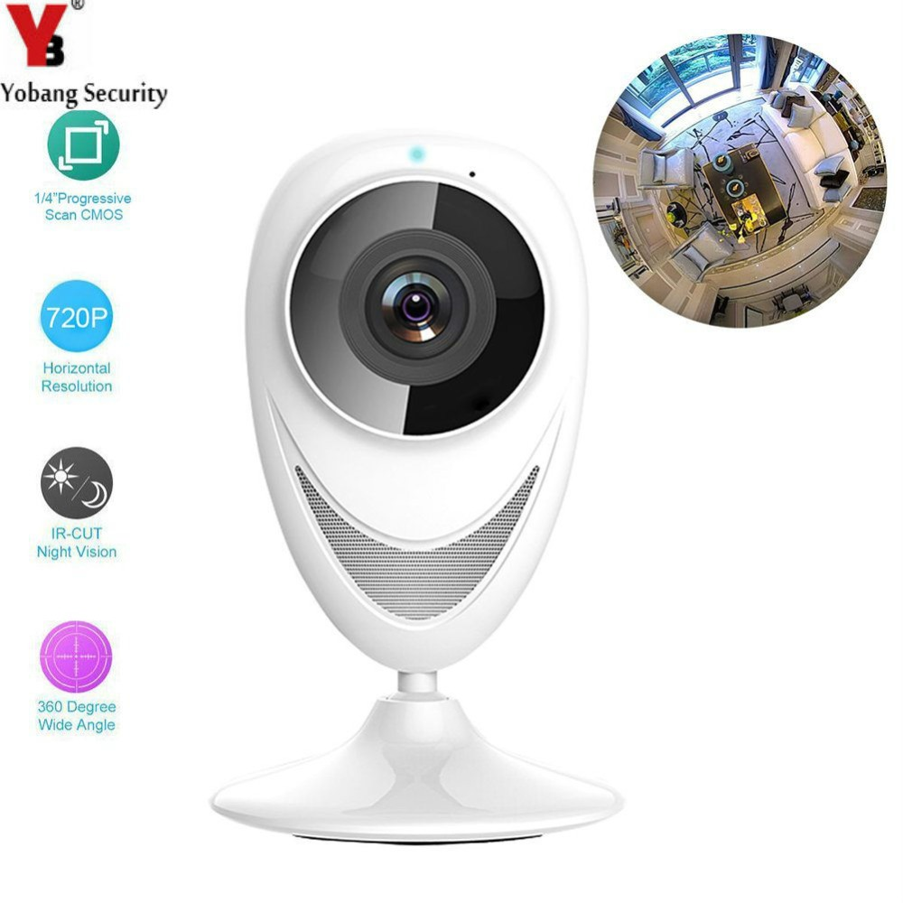 Yobang Security  720P 1.0M Wifi Wireless IP Camera Indoor Baby Monitor  WiFi Wireless surveillance Camera P2P CCTV Security Cam<br>