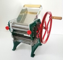 Hot sale,fast delivery manual noodle making machine,bearing stype pasta maker machine,pasta noodle machine