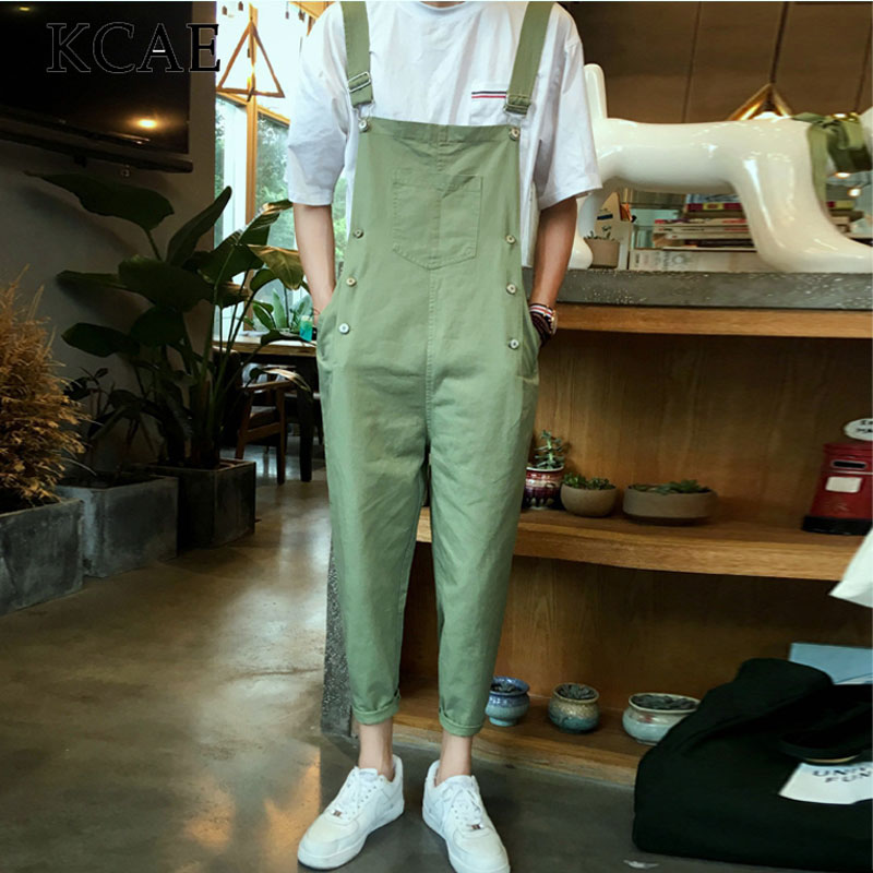 ArmyGreen Overalls Bib Design Multi Pockets Cargo Pants 2017 New Fashion Vintage Suspenders Free ShippingОдежда и ак�е��уары<br><br><br>Aliexpress