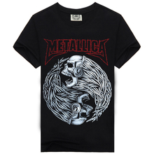 Rock Music Band T Shirt Men For AC DC Metallica Nirvana Slipknot Iron Maiden Pink Floyd Novelty black Cotton Short sleeves