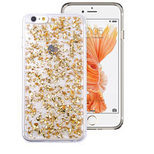 Fashion Glitter Case Cover For Apple iPhone 6 6S / 6G Plus 5.5 / 5 5g 5s Soft Silicone Gel Solid Capa Fundas Cell Phone Cover